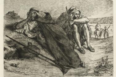Elloptak egy 600 ezer eurós Delacroix-festményt Párizsban