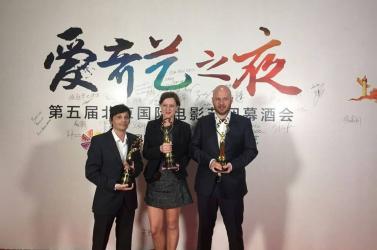 Három díjat kapott Pekingben Prikler Mátyásék filmje, Bandor Éva a legjobb női mellékszereplő!