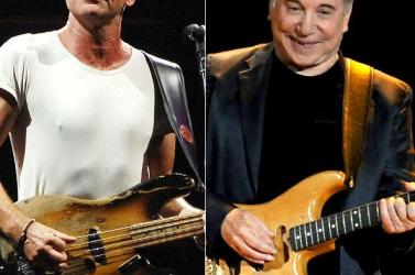 Közös turnéra indul Sting és Paul Simon