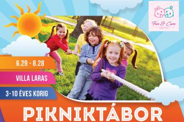 Pikniktábor Dunatőkésen 3-10 éves korig