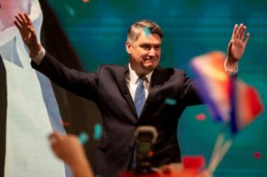 Letette hivatali esküjét Zoran Milanovic új horvát államfő