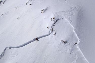 Az elmúlt három napban fél méter hó hullott aTátrában