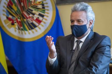 Kényszerleszállást hajtott végre Washingtonban az ecuadori elnök gépe