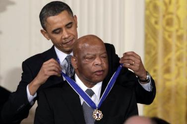 Meghalt John Lewis, neves fekete bőrű amerikai polgárjogi aktivista