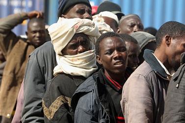 Megfulladt 13 afrikai menekült egy konténerben