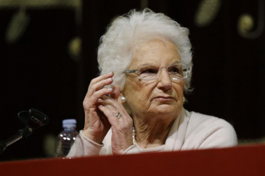 Rendőri védelmet kapott egy olasz holokauszt-túlélő, szenátor
