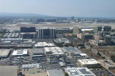 Vaklárma volt a riadó a Los Angeles-i repülőtéren