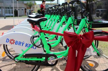 Leállították a kerékpárkölcsönző rendszerta sok rongálás miatt Losoncon