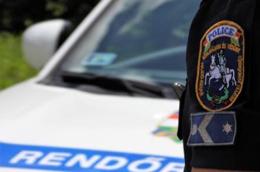 Bedrogozott autóst üldöztek a rendőrök Magyarországon