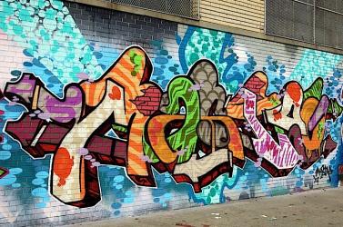 Rekordméretű graffitin dolgozik egy brazil művész