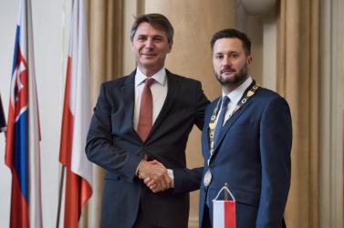 Matúš Vallo átvette Pozsony vezetését