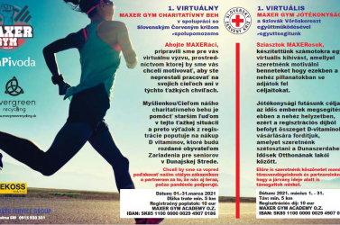 Vigyázz, kész, rajt – jön a Maxer Gym virtuális jótékonysági futás!