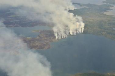 Ismét erdőtüzek tombolnak az északi-sarkvidéken