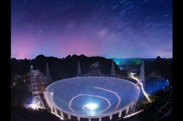 Titokzatos jeleket észlelt az űrből a kínai óriásteleszkóp