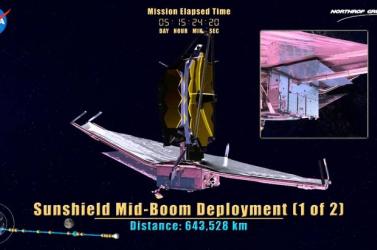 Sikeresen teljesítette az indítása előtti kulcsfontosságú tesztjét a Hubble űrtávcső utóda