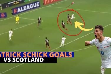 EURO-2020 - Patrik Schick gólját választották a legszebbnek (VIDEÓ)