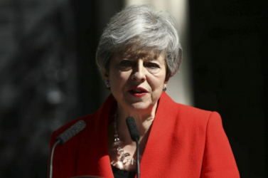 Theresa May már nem a Konzervatív Párt elnöke