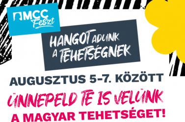 """Háromnapos fesztivál lesz Esztergomban, az MCC """"Hangot ad a tehetségnek"""""""