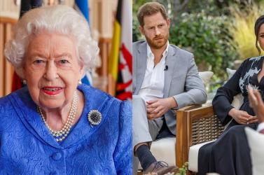 Reagált a brit királyi családHarry és Meghaninterjújára