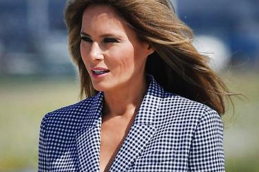 Az amerikai first lady Tucsonban felkereste a határőrség egyik központját