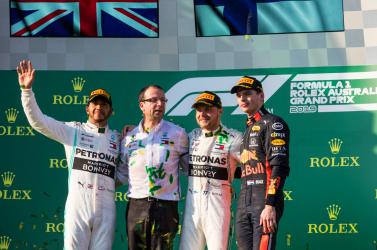 Ausztrál Nagydíj - Bottas győzött, Hamilton második