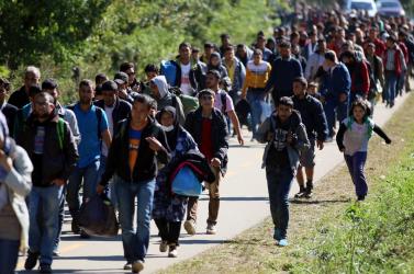 Van azért a menekülteknél nagyobb problémája is az embereknek Szlovákiában