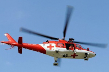 D4-es sztráda: Mentőhelikoptert risztottak a betonlemez alá szorultmunkásért