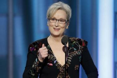 Az Oscar-díjas Meryl Streep újabb díjat vehet át