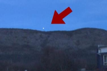Rejtélyes égi jelenséget kamerázott a Markíza videósa