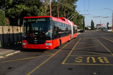 Egymásba hajtott egy autóbusz és egy troli Pozsonyban