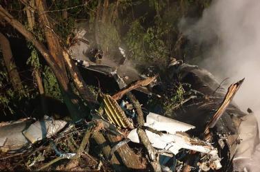 Kizárta a rendőrség, hogy bűncselekmény történt volna, mikor lezuhant a szlovák MiG-29