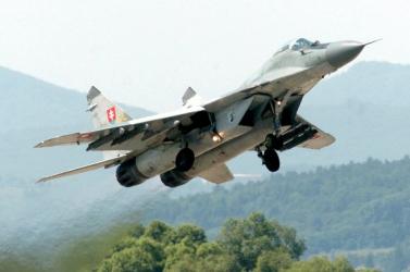 Lezuhant egy szlovák MiG-29-es!