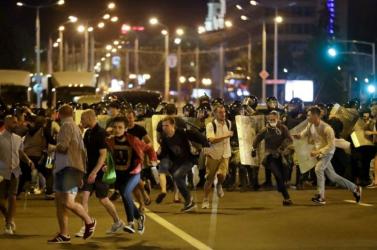Fehérorosz válság: Ismét tüntetnek Minszkben, több embert letartóztattak