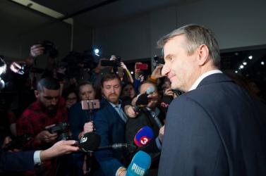 Robert Mistrík azt javasolja, a második körben is válasszák Zuzana Čaputovát