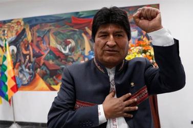 Kiskorúval folytatott szexuális kapcsolatot Evo Morales korábbi bolíviai elnök