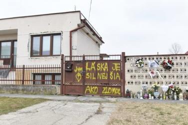 Lebontják Ján Kuciak és Martina Kušnírová nagymácsédi házát, ahol meggyilkolták a fiatal párt