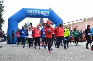 Rekordrészvétel a XI. nagymegyeri óévbúcsúztató futáson