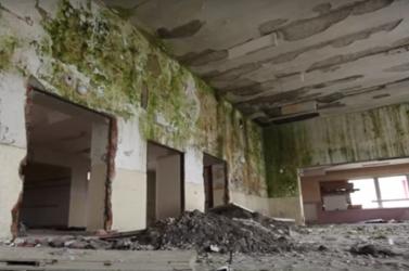 Katasztrofális állapotban a nagyudvarnoki kultúrház - nem tudni, mi lesz vele!