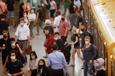 A fertőzésszám robbanásszerű növekedése fenyeget Németországban