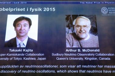 NOBEL-DÍJ: Japán és kanadai fizikus lett a befutó