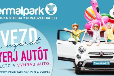 Gyere el idén a dunaszerdahelyi Thermalparkba, majd surranj haza egy Fiat 500X-szel!