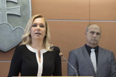 Saková elárulta, mikor lesz ismert az új rendőrfőkapitány neve