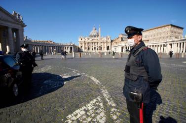 Az olasz rendőrség feltételezett maffiatagokat vett őrizetbe