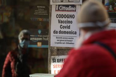 Olaszországban az új esetek közel egynegyedét Szicíliában regisztrálják
