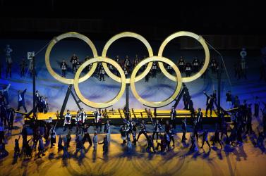 FOTÓK: Elkezdődött atokiói olimpiaünnepélyes megnyitója