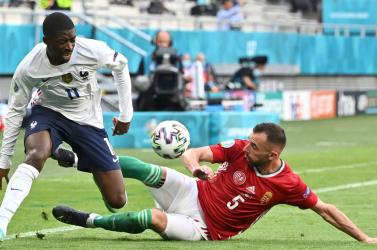 EURO-2020: Dembélé számára véget ért a torna