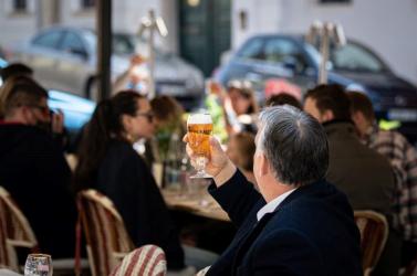 Orbán Viktor szerint már szabad a sör, és mi meg nyálcsorgatva várjuk a hétfőt