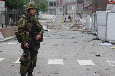 Norvégiában a 2011-es terrorcselekmények halálos áldozataira emlékeztek