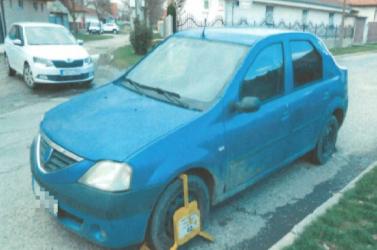 Pofonegyszerű megoldással próbált túljárni a városi zsaruk eszén egy sofőr Nagymegyeren!