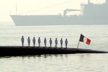 Eloltották a tüzet a francia atom-tengeralattjárón